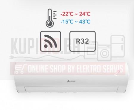 Azuri 18ka Inverter klima SUPRA do -22°C Velika