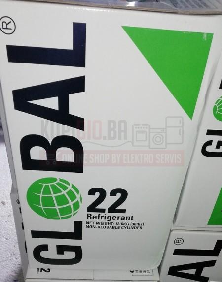 Freon R22a 13,6kg GLOBAL Velika