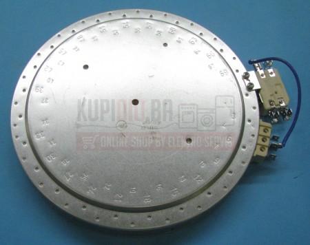 Grijač ringla staklokeramika 230V 2200/800W 210mm 607619 Velika