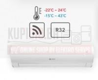 GREE Azuri 9ka Inverter klima NORA do -15°C