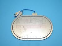 Grijač ringla staklokeramika 230V 2000/1100W 250x140mm 607622 Mala