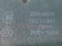 Grijač ringla staklokeramika 230V 2400/1500W 265x170mm 607620 Mala