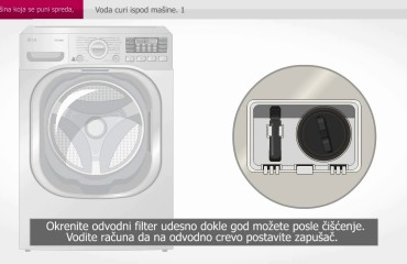 Kako se čisti filter na veš mašini?